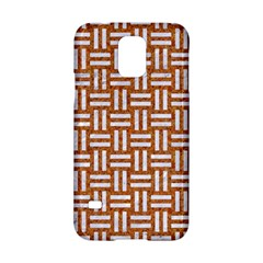 WOVEN1 WHITE MARBLE & RUSTED METAL Samsung Galaxy S5 Hardshell Case