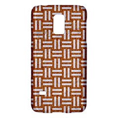 WOVEN1 WHITE MARBLE & RUSTED METAL Galaxy S5 Mini
