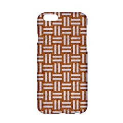 WOVEN1 WHITE MARBLE & RUSTED METAL Apple iPhone 6/6S Hardshell Case