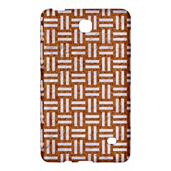 WOVEN1 WHITE MARBLE & RUSTED METAL Samsung Galaxy Tab 4 (8 ) Hardshell Case