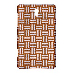 WOVEN1 WHITE MARBLE & RUSTED METAL Samsung Galaxy Tab S (8.4 ) Hardshell Case