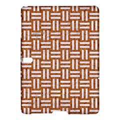 WOVEN1 WHITE MARBLE & RUSTED METAL Samsung Galaxy Tab S (10.5 ) Hardshell Case