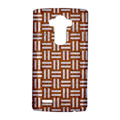 WOVEN1 WHITE MARBLE & RUSTED METAL LG G4 Hardshell Case