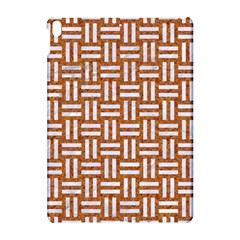 WOVEN1 WHITE MARBLE & RUSTED METAL Apple iPad Pro 10.5   Hardshell Case