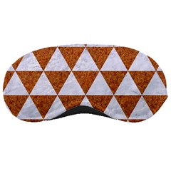 Triangle3 White Marble & Rusted Metal Sleeping Masks by trendistuff