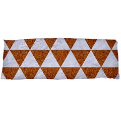 Triangle3 White Marble & Rusted Metal Body Pillow Case Dakimakura (two Sides)