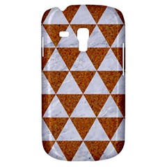 Triangle3 White Marble & Rusted Metal Galaxy S3 Mini by trendistuff
