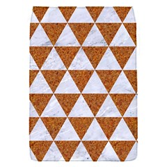 Triangle3 White Marble & Rusted Metal Flap Covers (s)  by trendistuff