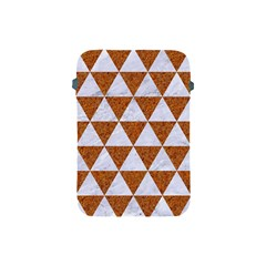 Triangle3 White Marble & Rusted Metal Apple Ipad Mini Protective Soft Cases by trendistuff