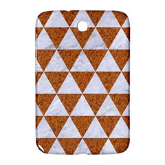 Triangle3 White Marble & Rusted Metal Samsung Galaxy Note 8 0 N5100 Hardshell Case  by trendistuff