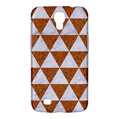 Triangle3 White Marble & Rusted Metal Samsung Galaxy Mega 6 3  I9200 Hardshell Case by trendistuff