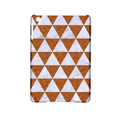 Triangle3 White Marble & Rusted Metal Ipad Mini 2 Hardshell Cases by trendistuff