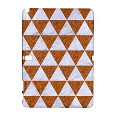 Triangle3 White Marble & Rusted Metal Galaxy Note 1 by trendistuff