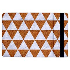 Triangle3 White Marble & Rusted Metal Ipad Air Flip by trendistuff