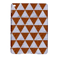 Triangle3 White Marble & Rusted Metal Ipad Air 2 Hardshell Cases by trendistuff