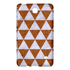 Triangle3 White Marble & Rusted Metal Samsung Galaxy Tab 4 (8 ) Hardshell Case