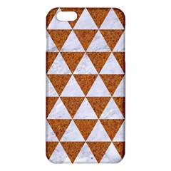 Triangle3 White Marble & Rusted Metal Iphone 6 Plus/6s Plus Tpu Case by trendistuff