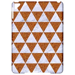 Triangle3 White Marble & Rusted Metal Apple Ipad Pro 9 7   Hardshell Case by trendistuff
