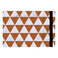 Triangle3 White Marble & Rusted Metal Apple Ipad Pro 10 5   Flip Case by trendistuff