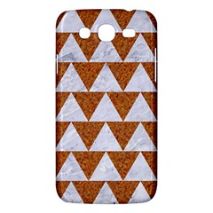 Triangle2 White Marble & Rusted Metal Samsung Galaxy Mega 5 8 I9152 Hardshell Case