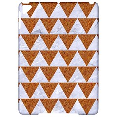 Triangle2 White Marble & Rusted Metal Apple Ipad Pro 9 7   Hardshell Case by trendistuff