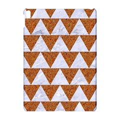 Triangle2 White Marble & Rusted Metal Apple Ipad Pro 10 5   Hardshell Case