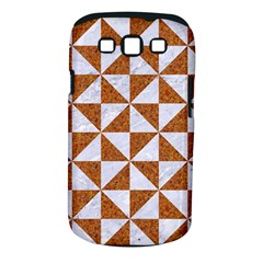 Triangle1 White Marble & Rusted Metal Samsung Galaxy S Iii Classic Hardshell Case (pc+silicone) by trendistuff