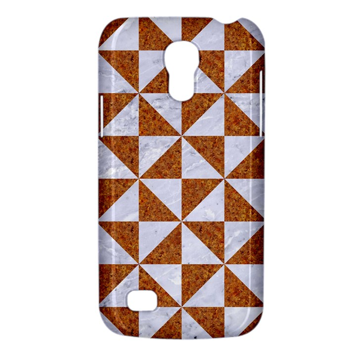 TRIANGLE1 WHITE MARBLE & RUSTED METAL Galaxy S4 Mini