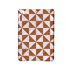 Triangle1 White Marble & Rusted Metal Ipad Mini 2 Hardshell Cases by trendistuff