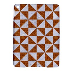 Triangle1 White Marble & Rusted Metal Ipad Air 2 Hardshell Cases by trendistuff