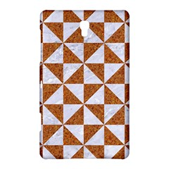 Triangle1 White Marble & Rusted Metal Samsung Galaxy Tab S (8 4 ) Hardshell Case  by trendistuff
