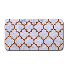 Tile1 White Marble & Rusted Metal (r) Medium Bar Mats by trendistuff