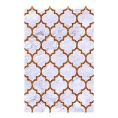 Tile1 White Marble & Rusted Metal (r) Shower Curtain 48  X 72  (small)  by trendistuff