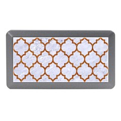 TILE1 WHITE MARBLE & RUSTED METAL (R) Memory Card Reader (Mini)
