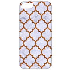 TILE1 WHITE MARBLE & RUSTED METAL (R) Apple iPhone 5 Classic Hardshell Case