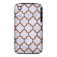 Tile1 White Marble & Rusted Metal (r) Iphone 3s/3gs by trendistuff