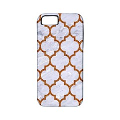 TILE1 WHITE MARBLE & RUSTED METAL (R) Apple iPhone 5 Classic Hardshell Case (PC+Silicone)