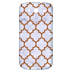 TILE1 WHITE MARBLE & RUSTED METAL (R) Samsung Galaxy S3 S III Classic Hardshell Back Case