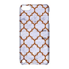 TILE1 WHITE MARBLE & RUSTED METAL (R) Apple iPod Touch 5 Hardshell Case with Stand