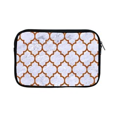 TILE1 WHITE MARBLE & RUSTED METAL (R) Apple iPad Mini Zipper Cases