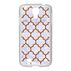TILE1 WHITE MARBLE & RUSTED METAL (R) Samsung GALAXY S4 I9500/ I9505 Case (White)