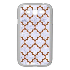 Tile1 White Marble & Rusted Metal (r) Samsung Galaxy Grand Duos I9082 Case (white) by trendistuff