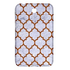 TILE1 WHITE MARBLE & RUSTED METAL (R) Samsung Galaxy Tab 3 (7 ) P3200 Hardshell Case