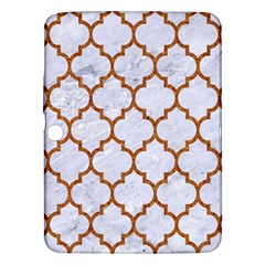 TILE1 WHITE MARBLE & RUSTED METAL (R) Samsung Galaxy Tab 3 (10.1 ) P5200 Hardshell Case