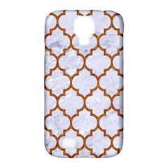 TILE1 WHITE MARBLE & RUSTED METAL (R) Samsung Galaxy S4 Classic Hardshell Case (PC+Silicone)