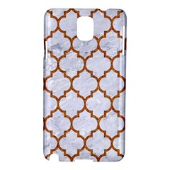 Tile1 White Marble & Rusted Metal (r) Samsung Galaxy Note 3 N9005 Hardshell Case by trendistuff
