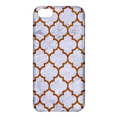 TILE1 WHITE MARBLE & RUSTED METAL (R) Apple iPhone 5C Hardshell Case