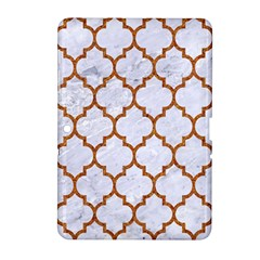 TILE1 WHITE MARBLE & RUSTED METAL (R) Samsung Galaxy Tab 2 (10.1 ) P5100 Hardshell Case