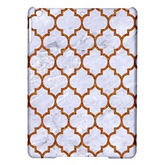 TILE1 WHITE MARBLE & RUSTED METAL (R) iPad Air Hardshell Cases