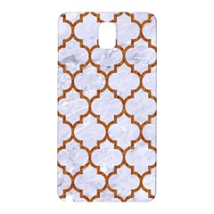 TILE1 WHITE MARBLE & RUSTED METAL (R) Samsung Galaxy Note 3 N9005 Hardshell Back Case